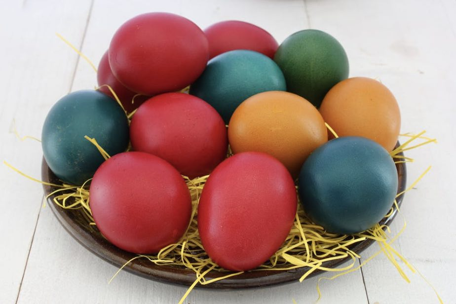 Colored Boiled Eggs